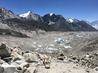 kumbu-glacier